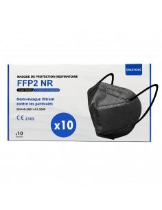 CRAZYCHIC - Masque FFP2 couleur noir