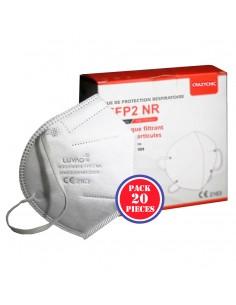 Demi-masque filtrant FFP2 norme CE EN149 Achat en ligne